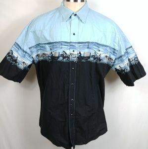 Roper Mens Western Shirt